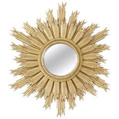 Mid-20th Century Sunburst Mirror