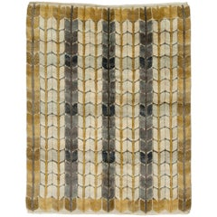Mid-20th Century Swedish Pile Rug by Ingrid Dessau