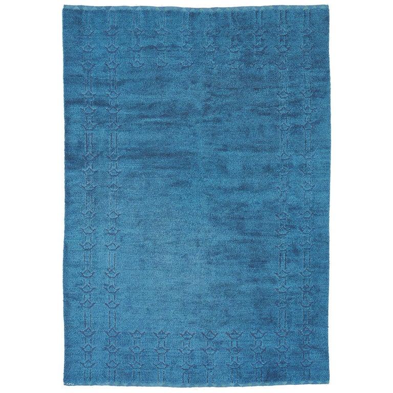 Ingrid Hellman-Knafve rug, ca. 1960, offered by FJ Hakimian