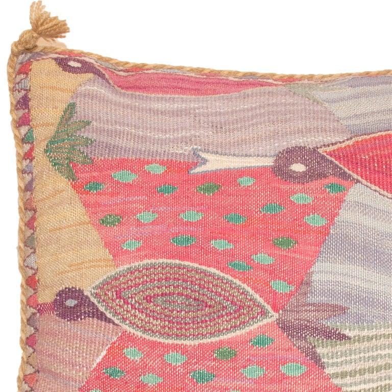 Scandinavian Modern Mid-20th Century Swedish, Pillow by Marianne Richter For Sale