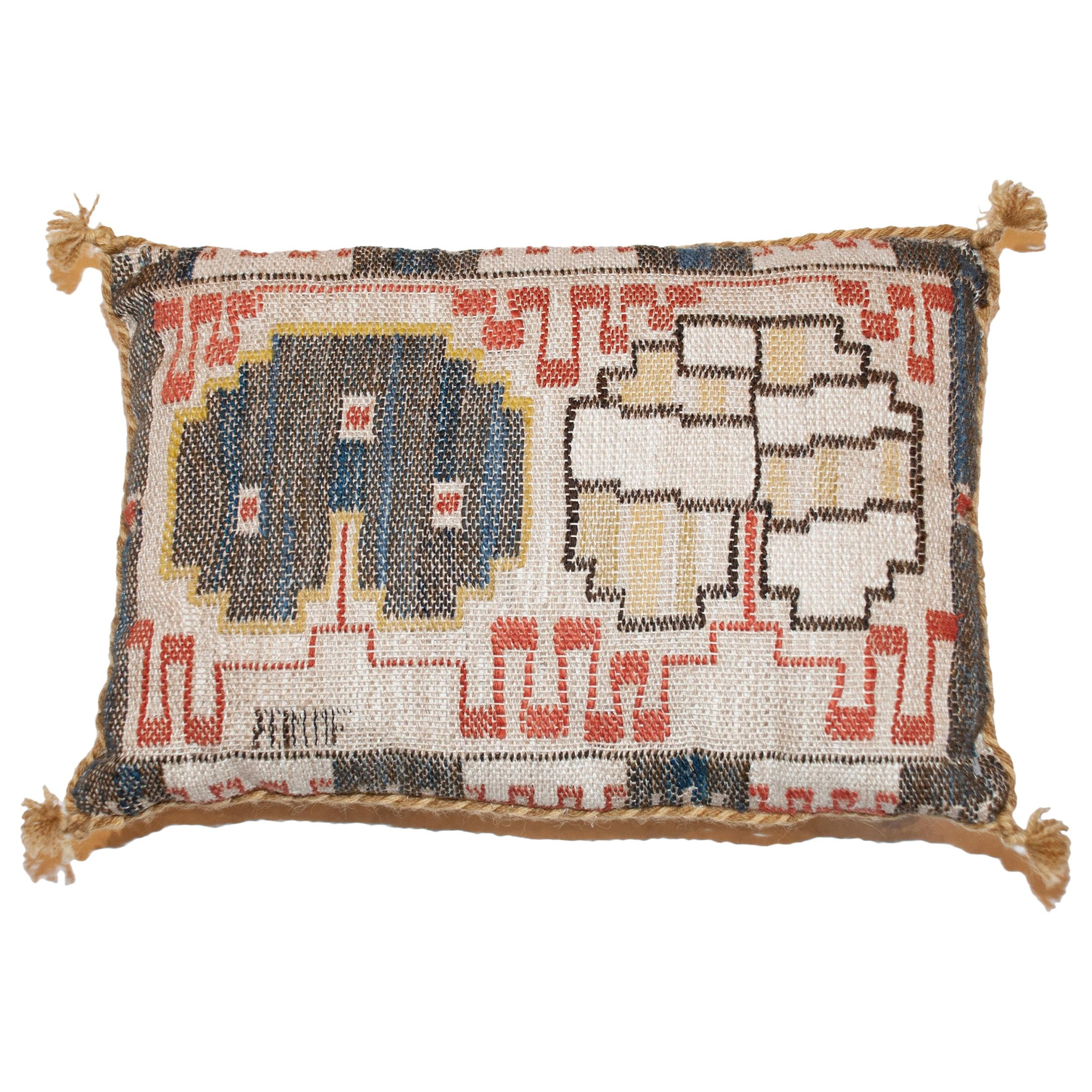 Mid 20th Century Swedish Pillow by AB Märta Måås-Fjetterström