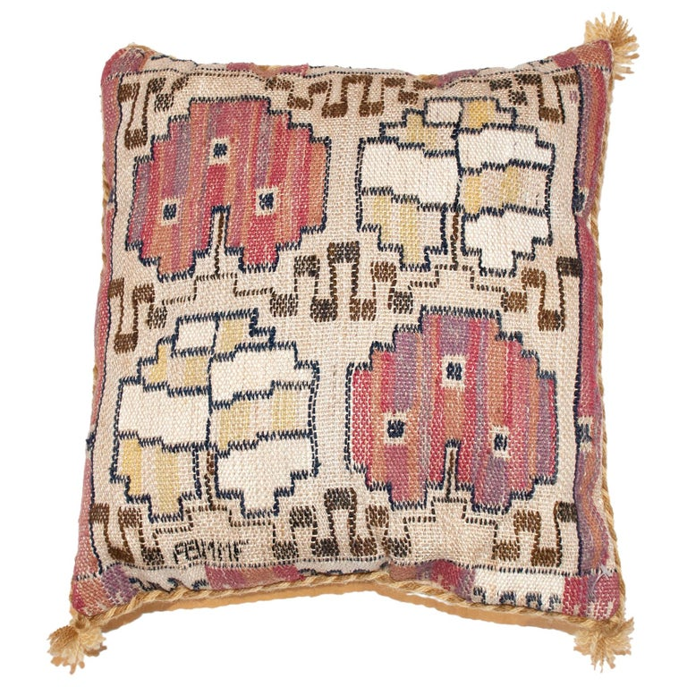 Mid-20th Century Swedish Pillow by AB MMF For Sale