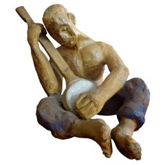Mid-20th Century Terracotta Figural Sculpture