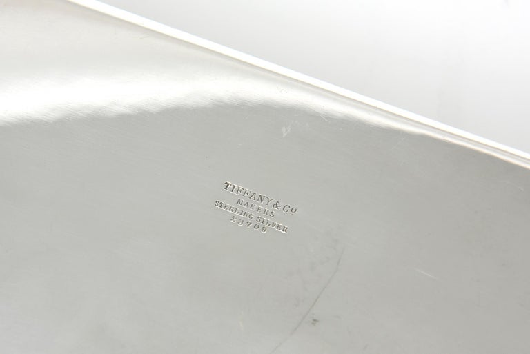 Mid-20th Century Tiffany & Co. Sterling Shell and Dolphin Box For Sale 4