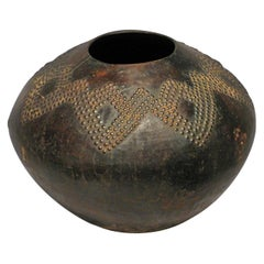Mid-20th Century Tribal African Pot, Zulu Ukhamba, South Africa