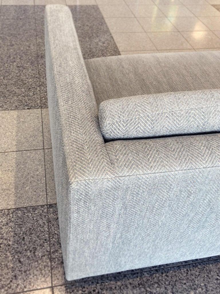 Mid-20th Century Tuxedo Sofa by Harvey Probber 6