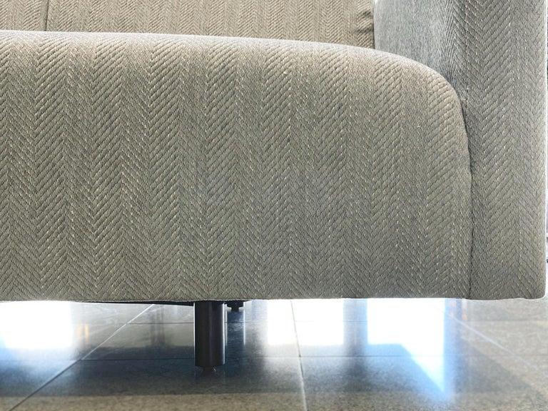 Mid-20th Century Tuxedo Sofa by Harvey Probber 7