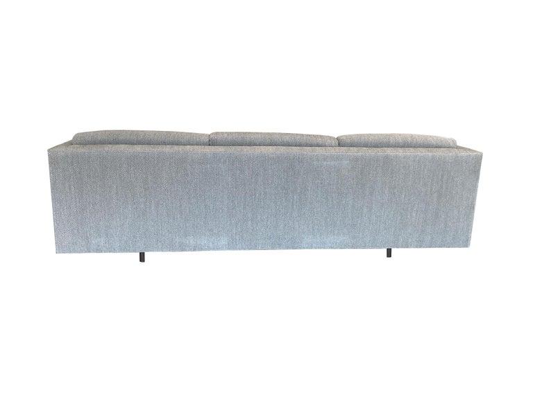 Mid-20th Century Tuxedo Sofa by Harvey Probber 10