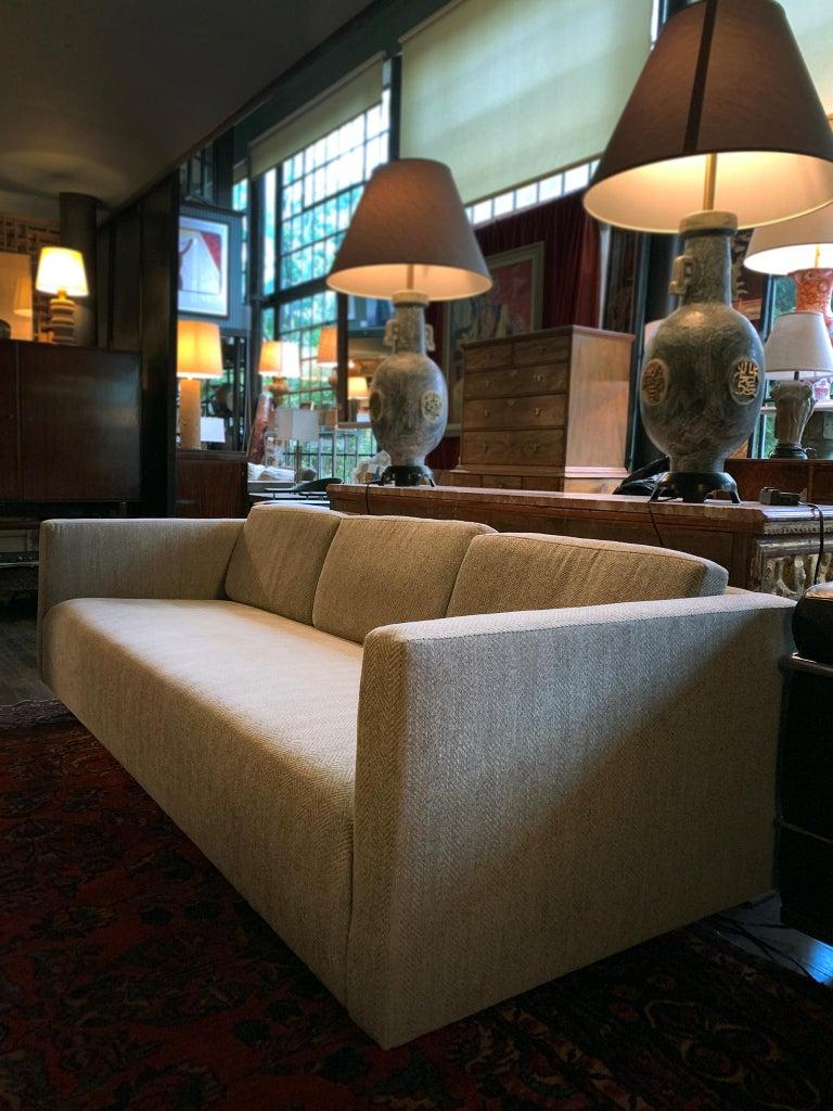 Mid-Century Modern Mid-20th Century Tuxedo Sofa by Harvey Probber