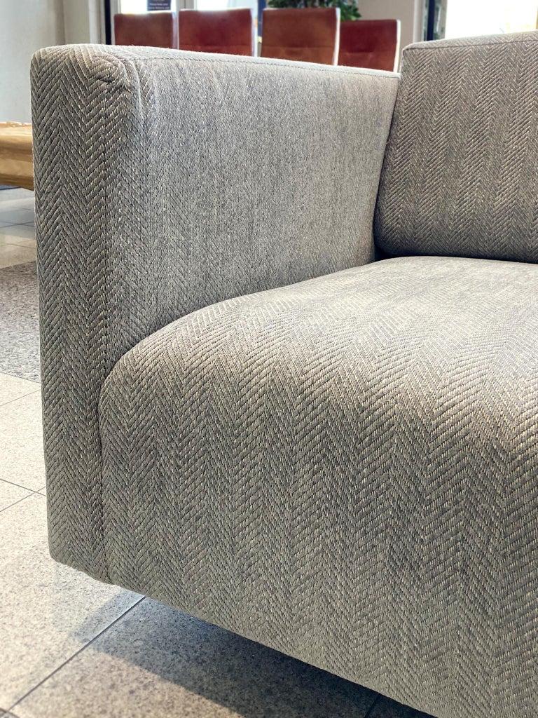 Mid-20th Century Tuxedo Sofa by Harvey Probber 3