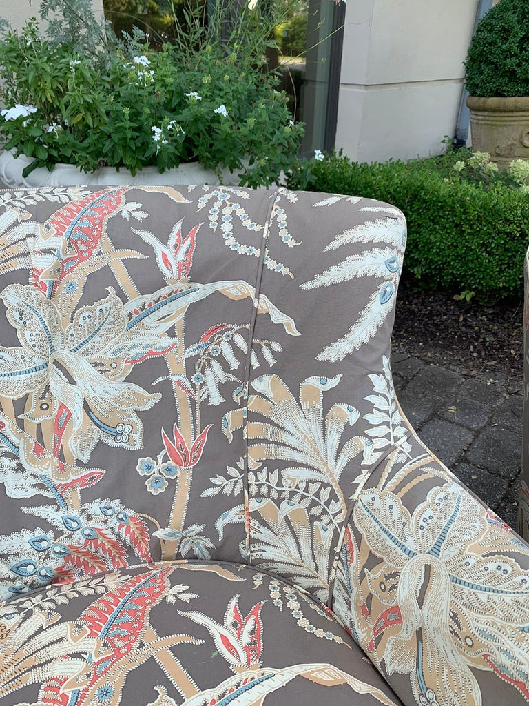 Mid-20th Century Upholstered Club Chair For Sale 3