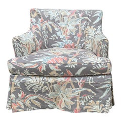 Mid-20th Century Upholstered Club Chair