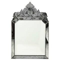 Mid 20th Century Venetian Mirror