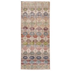 Mid-20th Century Vintage Art Deco Wool Rug