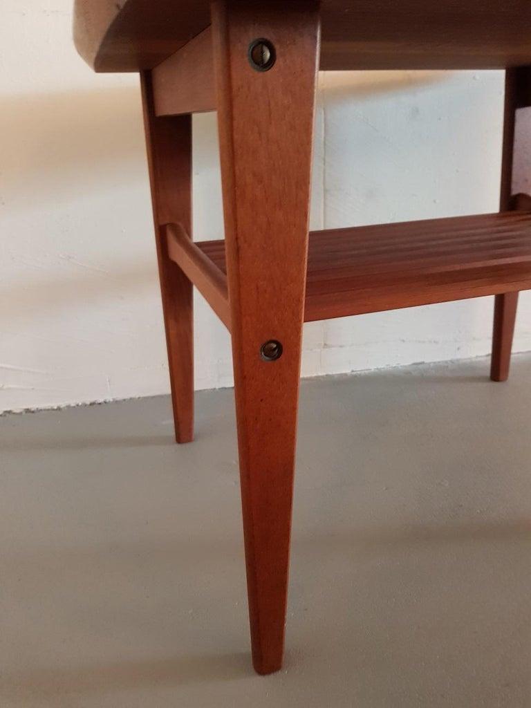Mid 20th Century Vintage Danish Teak Side Table