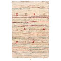 Mid-20th Century Vintage Kilim Wool Rug