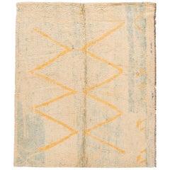 Mid-20th Century Vintage Moroccan Wool Rug