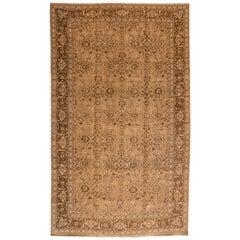 Mid-20th Century Vintage Tabriz Oversize Wool Rug