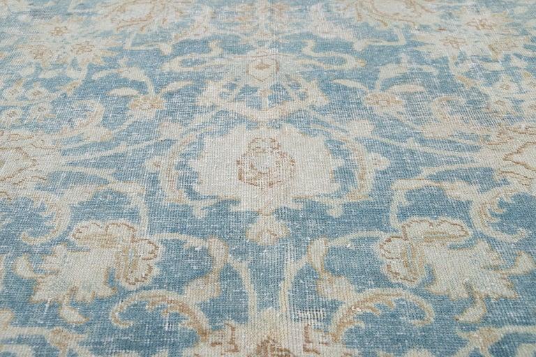Mid-20th Century Vintage Tabriz Wool Rug For Sale 10