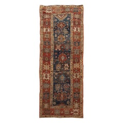 Mid-20th Century Vintage Tribal Bakshaish Rug