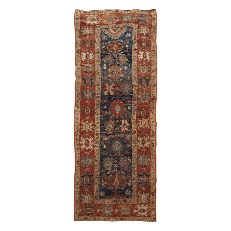 Mid-20th Century Vintage Tribal Bakshaish Rug For Sale