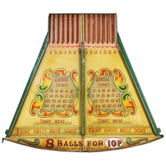 Mid-20th Century Winning Numbers Fairground Game