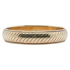 Mid-Century 14 Karat Tiffany & Co. Gold Band or Wedding Ring