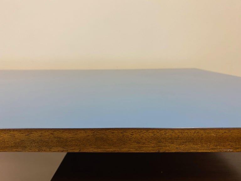 Midcentury 1950s Italian Desk by Giuseppe Postiglione For Sale 1