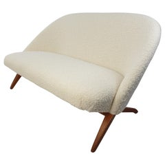 Mid Century 2-Seat Sofa by Theo Ruth for Artifort, 1950s