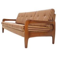 Midcentury 3-Seat Adjustable Sofa by Walter Knoll, 1960s