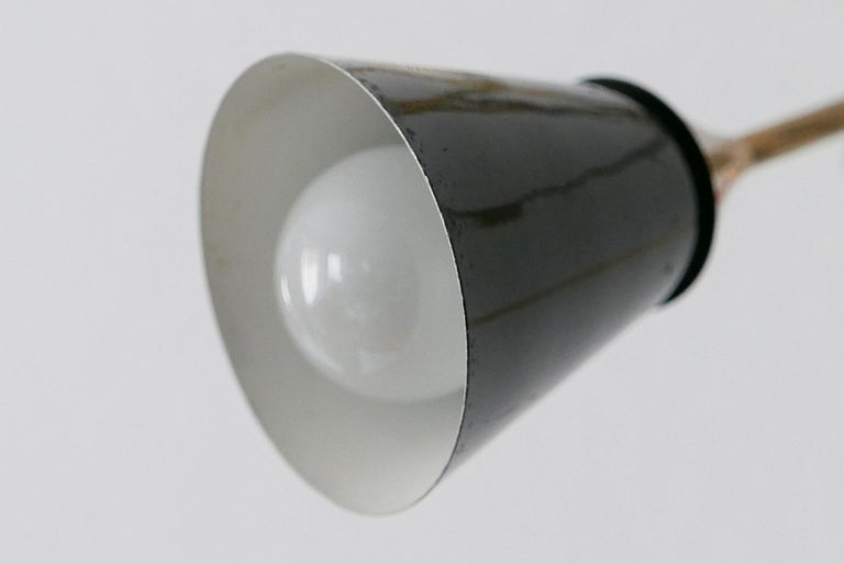 Midcentury 5-Arm Sputnik Chandelier or Pendant Lamp by Arredoluce, 1950s, Italy For Sale 10