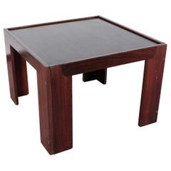 Mid-Century A. & T. Scarpa for Cassina, Meda Wood Coffee Table mod 771 '65 Italy