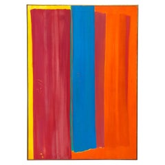 Mid Century Abstract in Primary Colors