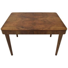 Midcentury Adjustable Dining Table by Jindrich Halabala for UP Závody Brno