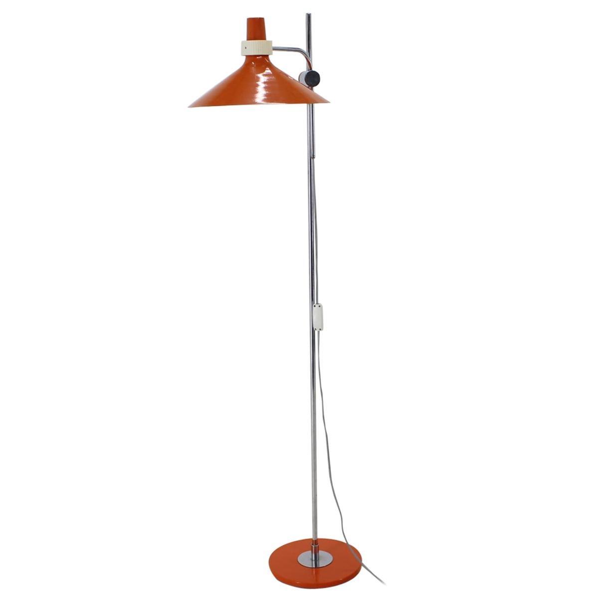 Midcentury Adjustable Floor Lamp, 1970s