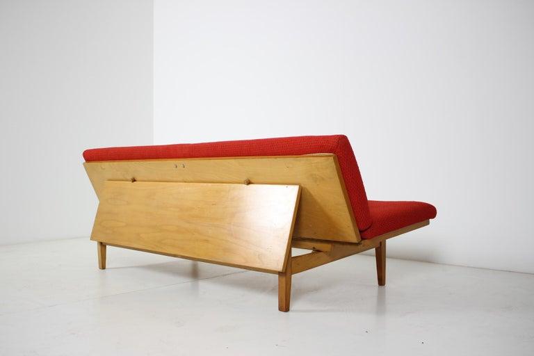 Midcentury Adjustable Sofa, 1960s For Sale 3