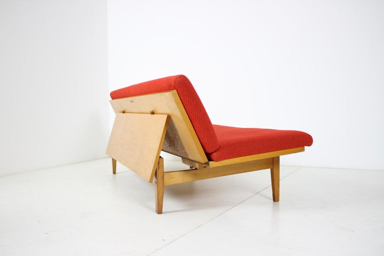 Midcentury Adjustable Sofa, 1960s For Sale 4