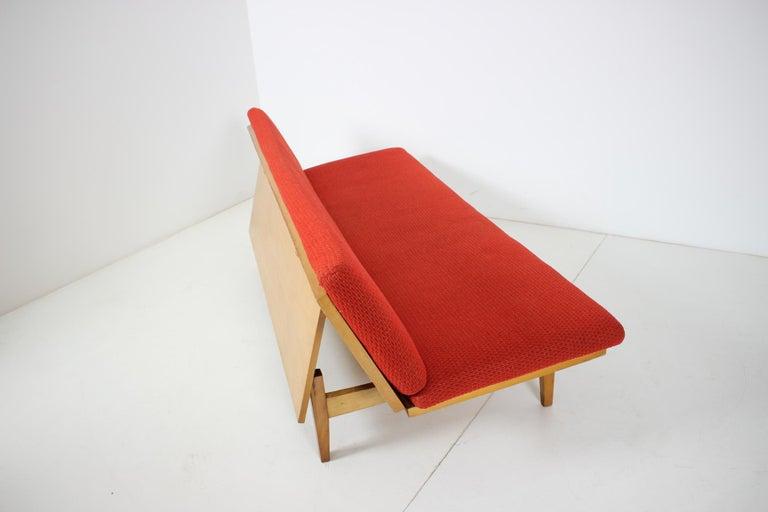 Midcentury Adjustable Sofa, 1960s For Sale 5