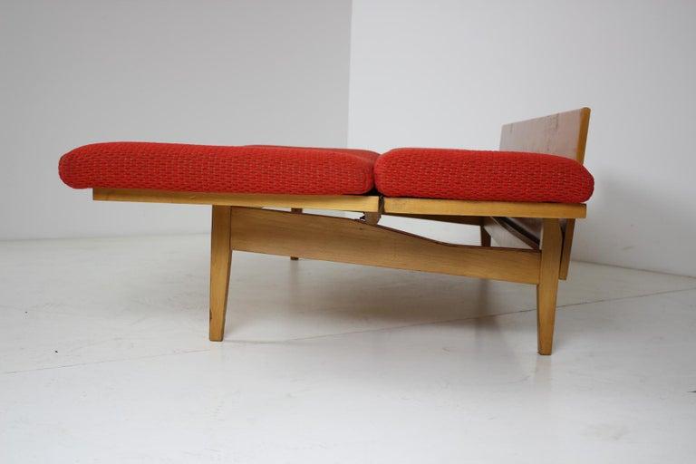 Midcentury Adjustable Sofa, 1960s For Sale 7