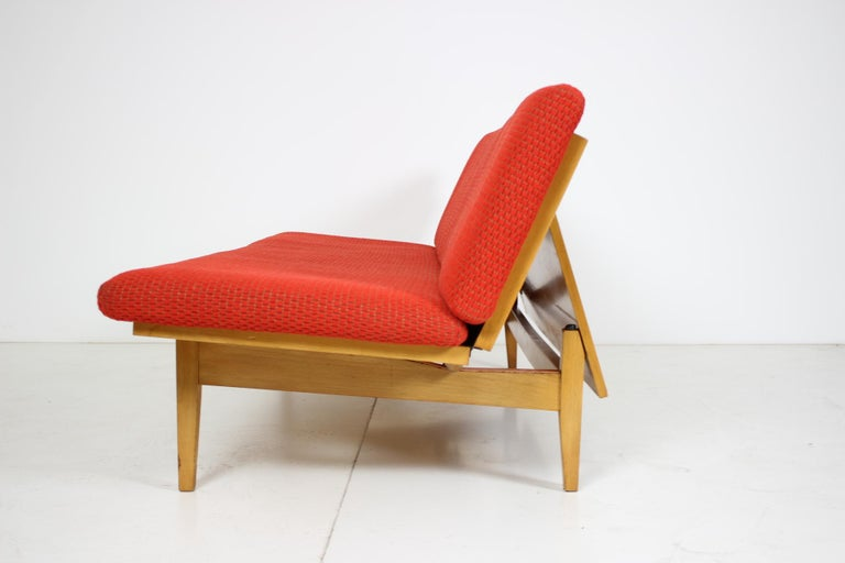Mid-20th Century Midcentury Adjustable Sofa, 1960s For Sale