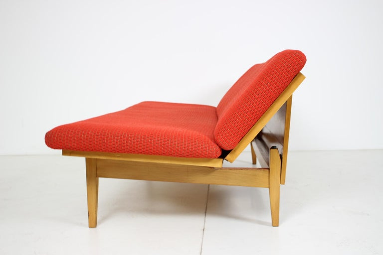 Midcentury Adjustable Sofa, 1960s For Sale 1