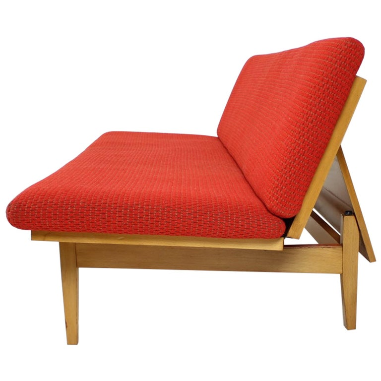 Midcentury Adjustable Sofa, 1960s For Sale