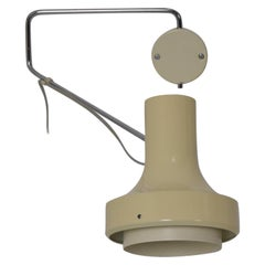 Midcentury Adjustable Wall Lamp Designed by Josef Hurka for Napako, 1960s