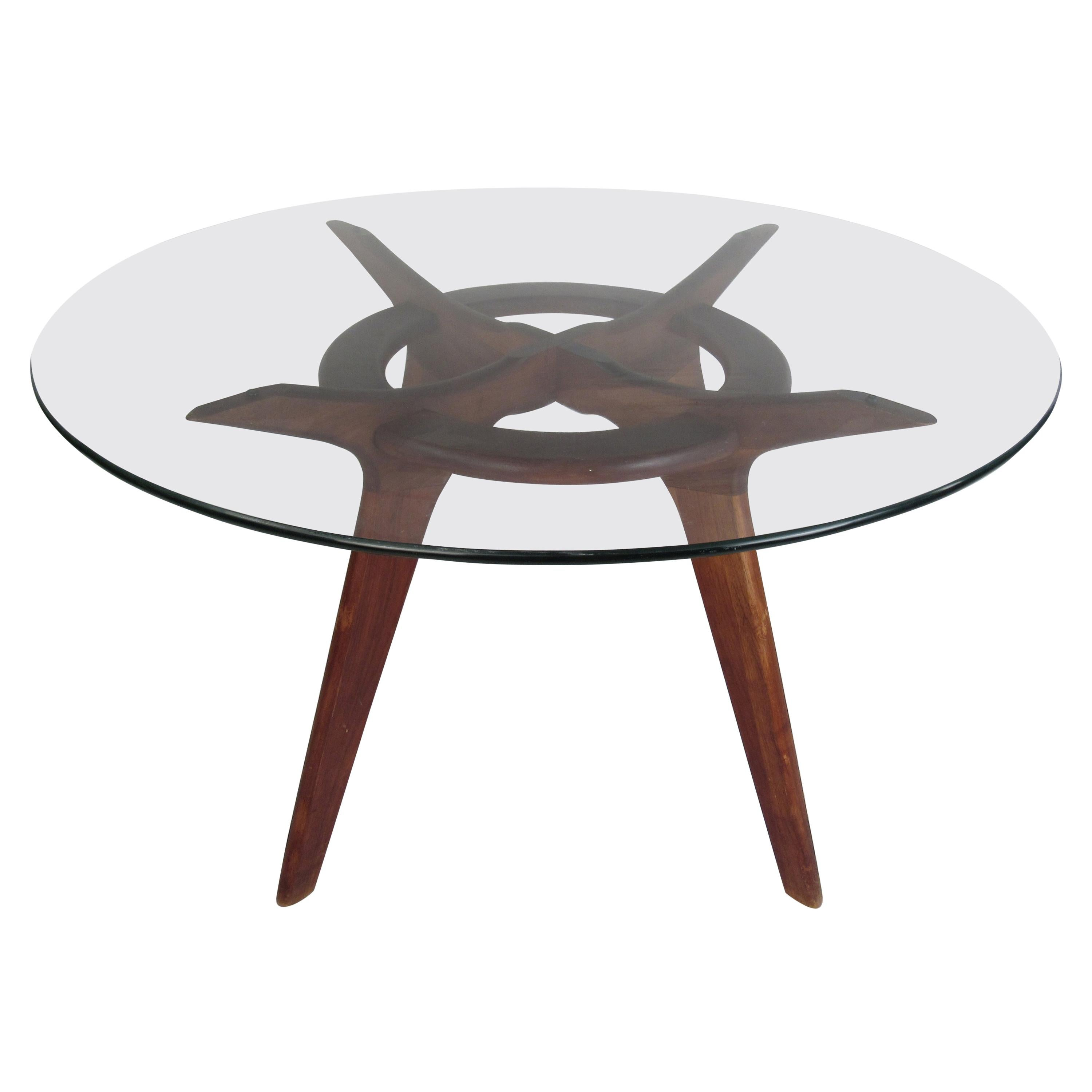 Midcentury Adrian Pearsall Compass Dining Table