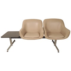 Midcentury Airport Bench Seating