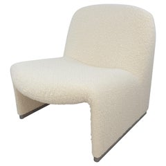 Mid Century Alky Lounge Chair by Giancarlo Piretti for Artifort, 1970's