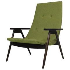 Mid-Century Allan Gould Walnut Lounge Chair