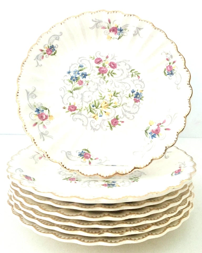 20th Century Mid-Century American Limoges Dinnerware