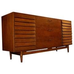 Midcentury American of Martinsville Merton Gershun Credenza Dresser