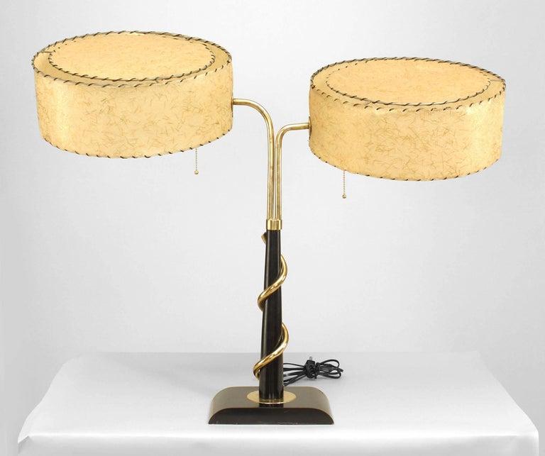 Mid-Century Modern Mid-Century American Student Lamp For Sale
